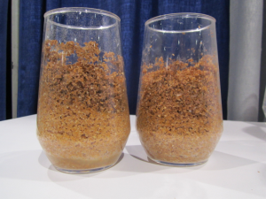 Rapidojet hydrates bran at 300%