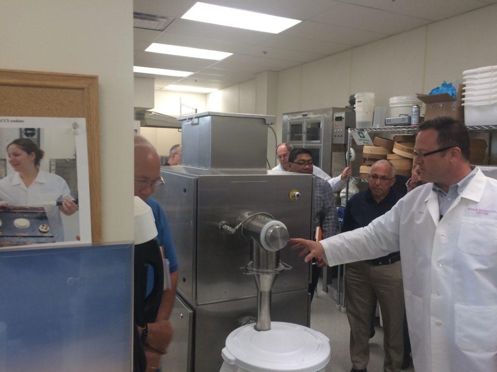 Rapidojet pre-hydrating flour baking equipment