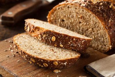 whole wheat bread, bran, healthy bread
